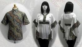 gambar baju batik terbaru 2012