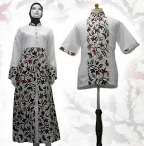 fashion baju batik 2012