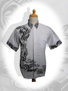 a Model terbaru baju batik pria 2012