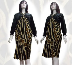B baju batik wanita modern