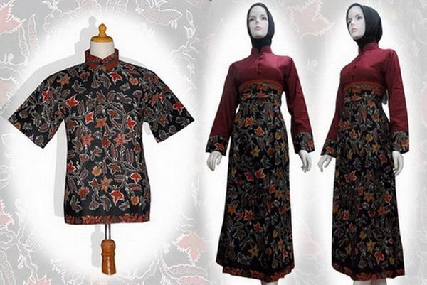 Model Baju Batik Gamis Terbaru Model Baju Batik Modern