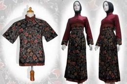 baru baju batik wanita modern