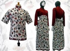 model baju batik unik