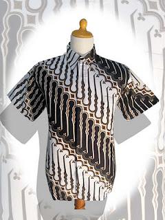 d20 Model terbaru baju batik pria 2012