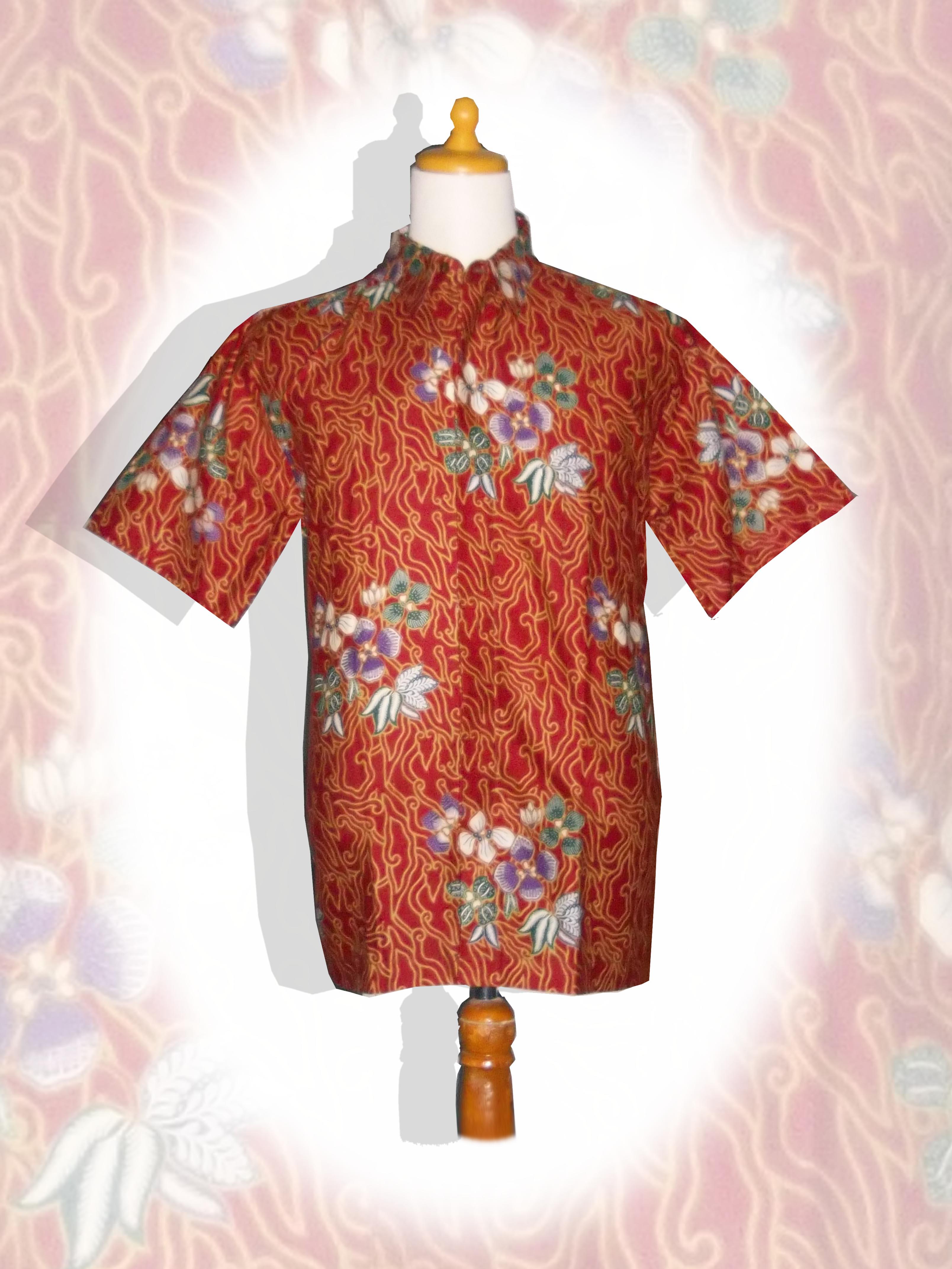 Baju Batik Pria Kain Batik Modern Pria Wanita Terbaru
