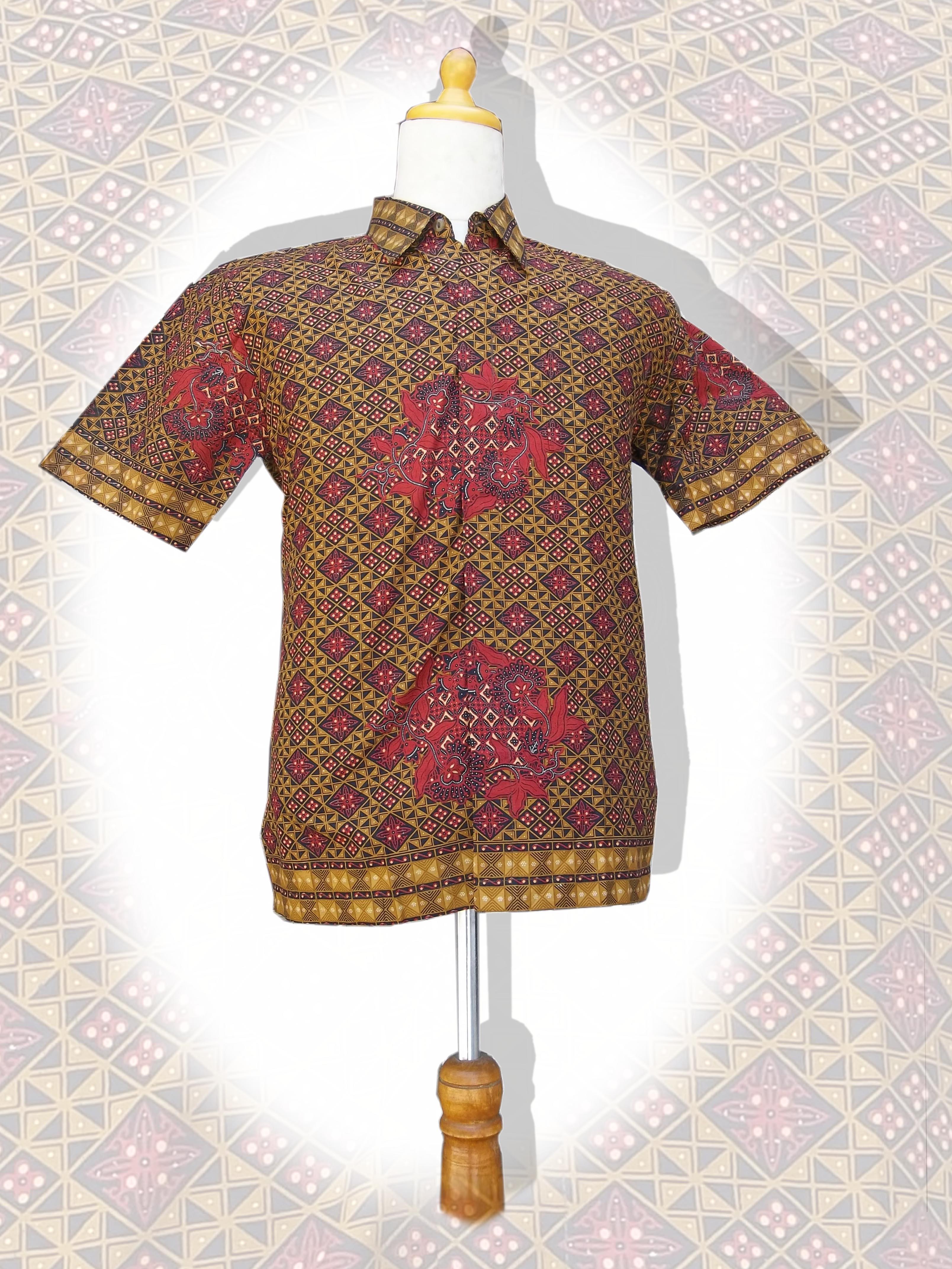 Model Baju Batik Pria Model Baju Batik Modern Terbaru