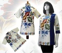 h baju batik wanita modern