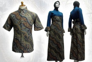 baju batik modern indonesia