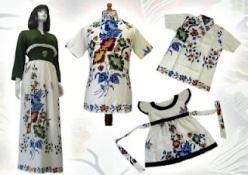 j baju batik wanita modern