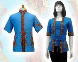 k baju batik wanita modern