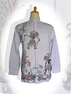 Model terbaru baju batik pria 2013