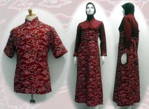 baju batik modern muslim