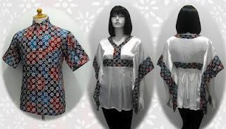 model baju batik pekalongan 2012